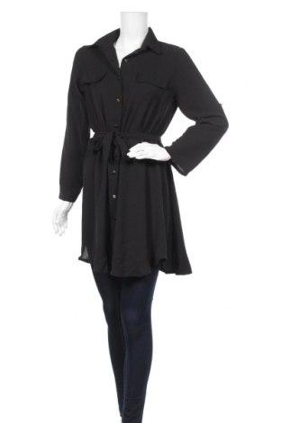 Дамска риза Chloe Sand, Размер L, Цвят Черен, 95% полиестер, 5% еластан, Цена 32,20лв.
