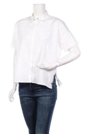 Дамска риза Cop.copine, Размер S, Цвят Бял, Памук, Цена 57,77лв.
