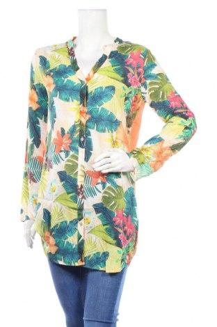 Дамска риза Desigual, Размер S, Цвят Многоцветен, Вискоза, Цена 70,85лв.