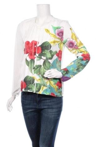 Дамска риза Desigual, Размер M, Цвят Многоцветен, Полиестер, Цена 70,85лв.