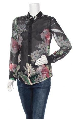 Дамска риза Guess, Размер S, Цвят Многоцветен, Полиестер, Цена 70,85лв.