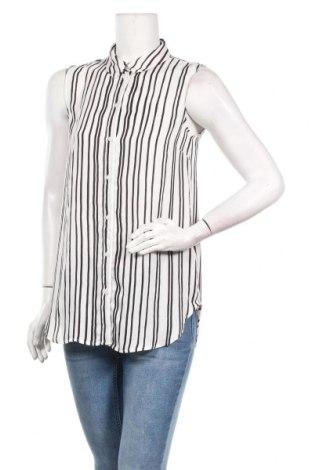 Дамска риза H&M, Размер M, Цвят Бял, Полиестер, Цена 15,08лв.