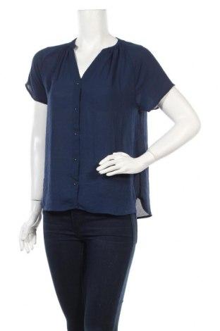 Дамска риза H&M, Размер M, Цвят Син, Полиестер, Цена 28,00лв.