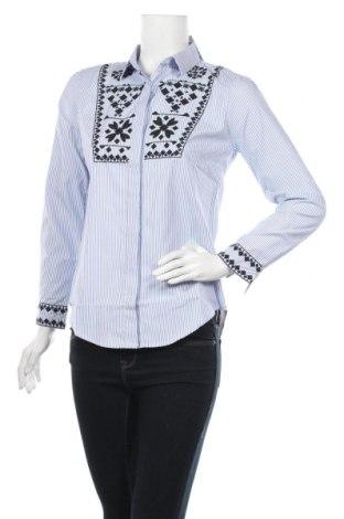 Дамска риза Irl, Размер S, Цвят Син, Полиестер, Цена 30,80лв.