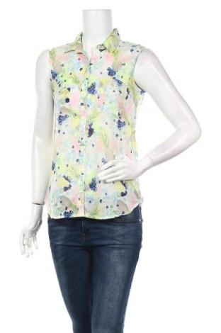 Дамска риза Jennyfer, Размер S, Цвят Многоцветен, Полиестер, Цена 27,30лв.