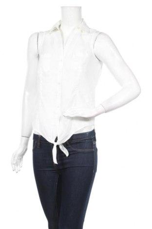 Дамска риза Jennyfer, Размер S, Цвят Бял, Памук, Цена 24,36лв.