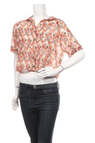 Γυναικείο πουκάμισο La Fee Maraboutee, Μέγεθος XS, Χρώμα Πολύχρωμο, Πολυεστέρας, Τιμή 18,54€