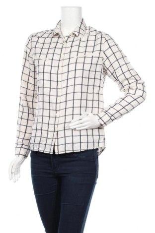 Дамска риза Maison Scotch, Размер M, Цвят Бял, 55% лен, 45% памук, Цена 38,00лв.