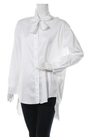 Дамска риза Marc Cain, Размер S, Цвят Бял, 63% памук, 37% полиестер, Цена 122,85лв.