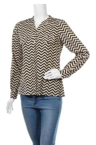 Дамска риза Nife, Размер M, Цвят Екрю, Полиестер, Цена 39,20лв.