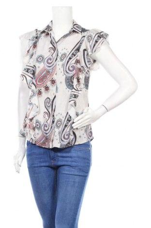 Дамска риза Nife, Размер S, Цвят Многоцветен, 98% полиестер, 2% еластан, Цена 26,68лв.