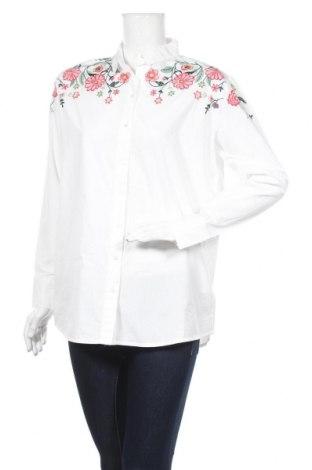 Дамска риза Pimkie, Размер S, Цвят Бял, Памук, Цена 36,40лв.