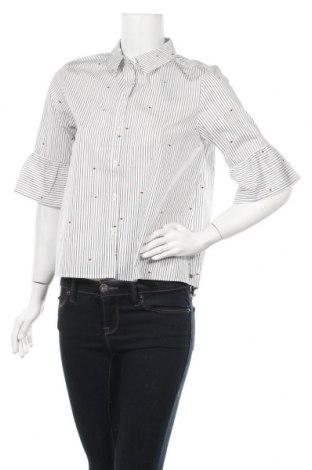 Дамска риза Scotch & Soda, Размер M, Цвят Бял, Памук, Цена 51,62лв.