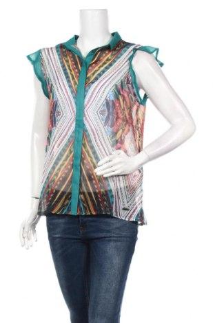 Дамска риза Smash, Размер L, Цвят Многоцветен, Полиестер, Цена 28,42лв.