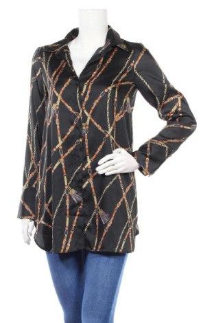 Дамска риза Zara Trafaluc, Размер S, Цвят Многоцветен, Полиестер, Цена 32,20лв.