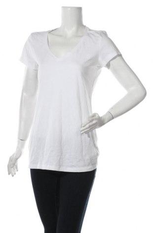 Дамска тениска G-Star Raw, Размер XXL, Цвят Бял, 95% памук, 5% еластан, Цена 51,62лв.