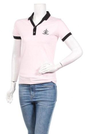 Дамска тениска Giorgio Di Mare, Размер M, Цвят Розов, 92% памук, 8% еластан, Цена 38,35лв.