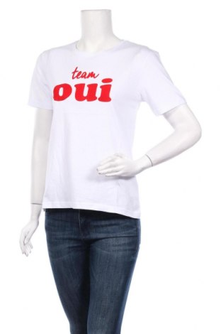 Дамска тениска Irl, Размер M, Цвят Бял, Памук, Цена 18,02лв.