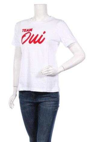 Дамска тениска Irl, Размер M, Цвят Бял, Памук, Цена 16,96лв.