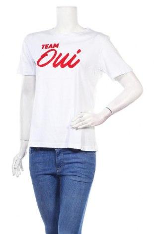 Дамска тениска Irl, Размер L, Цвят Бял, Памук, Цена 16,96лв.