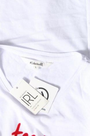 Дамска тениска Irl, Размер L, Цвят Бял, Памук, Цена 18,02лв.