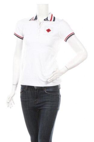 Дамска тениска Jack Williams, Размер M, Цвят Бял, 97% памук, 3% еластан, Цена 42,92лв.
