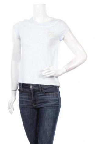 Дамска тениска Jack Wills, Размер XS, Цвят Син, 50% памук, 50% полиестер, Цена 25,35лв.