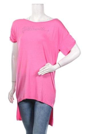 Τουνίκ Just Cavalli, Μέγεθος XL, Χρώμα Ρόζ , 96% βισκόζη, 4% ελαστάνη, Τιμή 51,63€