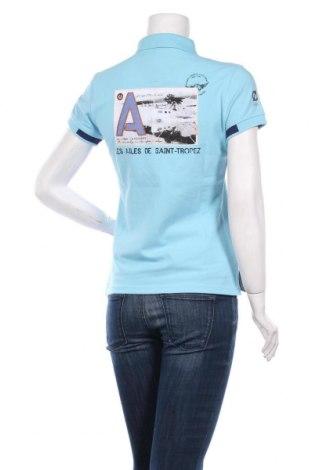 Дамска тениска Les ailes de Saint-Tropez, Размер S, Цвят Син, 95% памук, 5% еластан, Цена 19,72лв.
