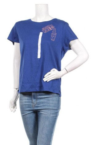 Дамска тениска Lft, Размер XL, Цвят Син, Памук, Цена 16,24лв.