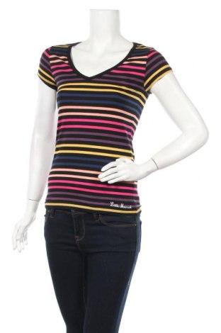Дамска тениска Little Marcel, Размер S, Цвят Многоцветен, 95% памук, 5% еластан, Цена 32,00лв.
