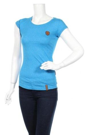 Дамска тениска Naketano, Размер S, Цвят Син, Цена 25,00лв.