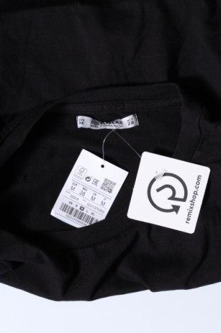 Дамска тениска Pull&Bear, Размер M, Цвят Черен, Памук, Цена 15,66лв.