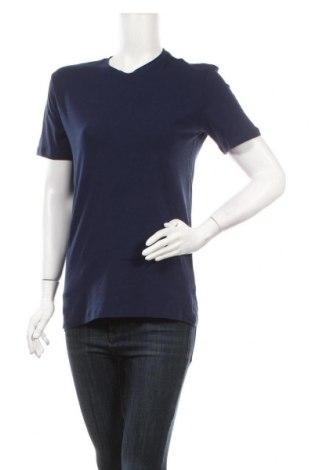 Дамска тениска Trussardi Jeans, Размер M, Цвят Син, 93% памук, 7% еластан, Цена 40,02лв.