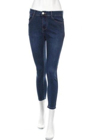 Дамски дънки, Размер S, Цвят Син, 70% памук, 25% полиестер, 5% еластан, Цена 10,87лв.