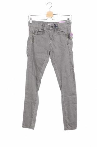 Дамски дънки Alcott, Размер S, Цвят Сив, 98% памук, 2% еластан, Цена 36,40лв.