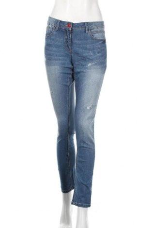 Дамски дънки Aniston, Размер S, Цвят Син, 79% памук, 19% полиестер, 2% еластан, Цена 30,80лв.