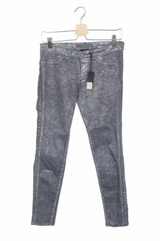 Дамски дънки IKKS, Размер M, Цвят Сив, 73% памук, 24% полиестер, 3% еластан, Цена 101,40лв.