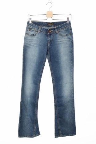 Дамски дънки Killah, Размер S, Цвят Син, 74% памук, 26% полиестер, Цена 29,90лв.