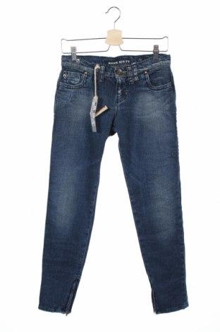 Дамски дънки Miss Sixty, Размер S, Цвят Син, 99% памук, 1% еластан, Цена 25,35лв.