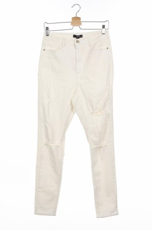 Дамски дънки Missguided, Размер M, Цвят Екрю, 98% памук, 2% еластан, Цена 31,20лв.