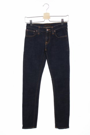 Дамски дънки Nudie Jeans Co, Размер XS, Цвят Син, 98% памук, 2% еластан, Цена 12,00лв.