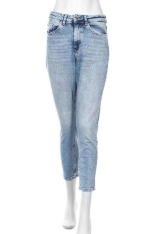 Дамски дънки ONLY, Размер M, Цвят Син, 99% памук, 1% еластан, Цена 40,32лв.