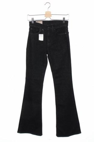 Дамски дънки Polo By Ralph Lauren, Размер XS, Цвят Черен, 91% памук, 7% полиестер, 2% еластан, Цена 31,35лв.