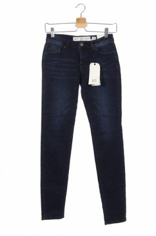 Дамски дънки Q/S by S.Oliver, Размер XS, Цвят Син, 95% памук, 3% полиестер, 2% еластан, Цена 43,45лв.
