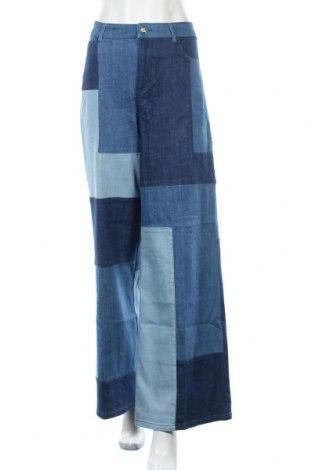 Дамски дънки TWINSET, Размер L, Цвят Син, 99% памук, 1% еластан, Цена 122,85лв.