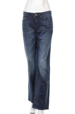 Дамски дънки Tom Tailor, Размер M, Цвят Син, 98% памук, 2% еластан, Цена 16,38лв.