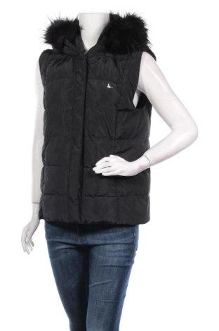 Дамски елек Jack Wills, Размер L, Цвят Черен, 100% полиестер, Цена 51,80лв.