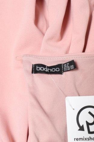 Дамски гащеризон Boohoo, Размер S, Цвят Розов, 96% полиестер, 4% еластан, Цена 15,48лв.