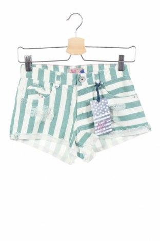 Γυναικείο κοντό παντελόνι Alcott, Μέγεθος XS, Χρώμα Πράσινο, Βαμβάκι, Τιμή 18,10€
